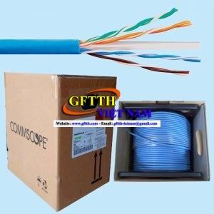 Cáp mạng Commscope/AMP CAT6 1427254-6 (305m/cuộn, hàng chính hãng)