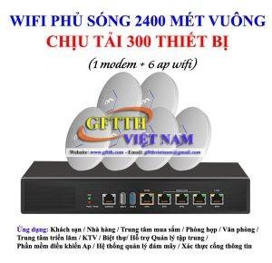 combo ac wifi 300 thiết bị
