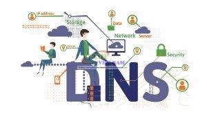 DNS  VNPT, VIETTEL, FPT, VNNIC (Domain Name Server của VNPT)